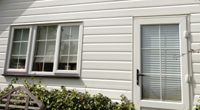 PVC Cladding and Timber Weather Boarding